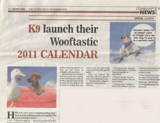 k9 press release 2010