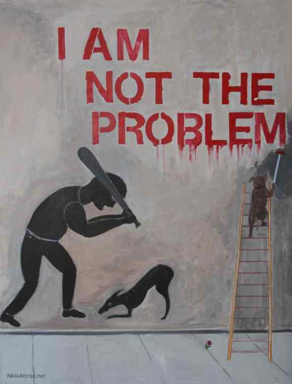 I am not the problem