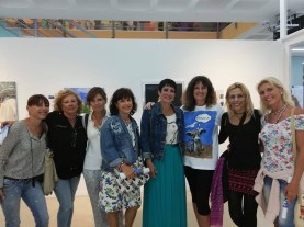 Adeje cultural Exhibtion includes maria fouth from left.